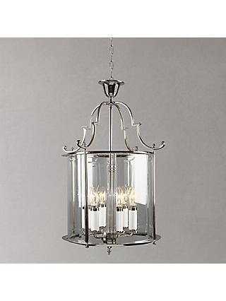 Bloomsbury Ceiling Light, Chrome, 15''