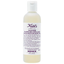 Buy Kiehl's Lavender Foaming-Relaxing Bath with Sea Salts and Aloe Vera, 50ml Online at johnlewis.com