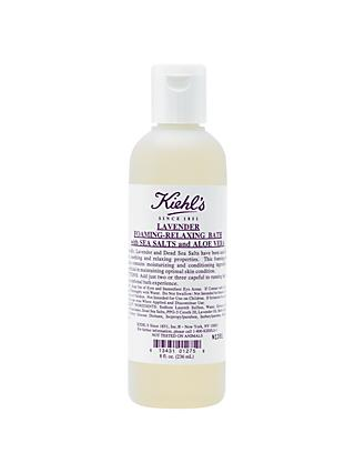 Kiehl's Lavender Foaming-Relaxing Bath with Sea Salts and Aloe Vera, 500ml