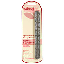 Buy Jessica Normal Cushioned Emery Board, Pack of 2 Online at johnlewis.com