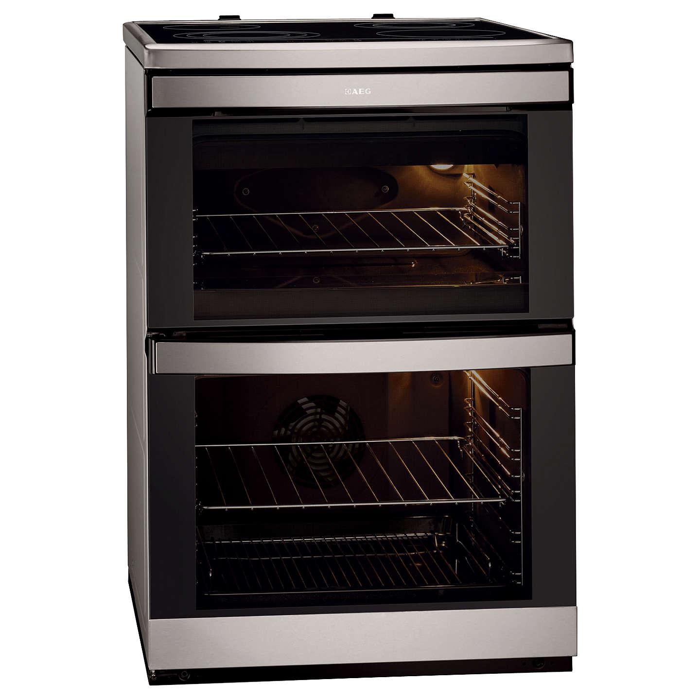 aeg 49002vmn electric cooker stainless steel at john lewis rh johnlewis com Operators Manual Manuals in PDF