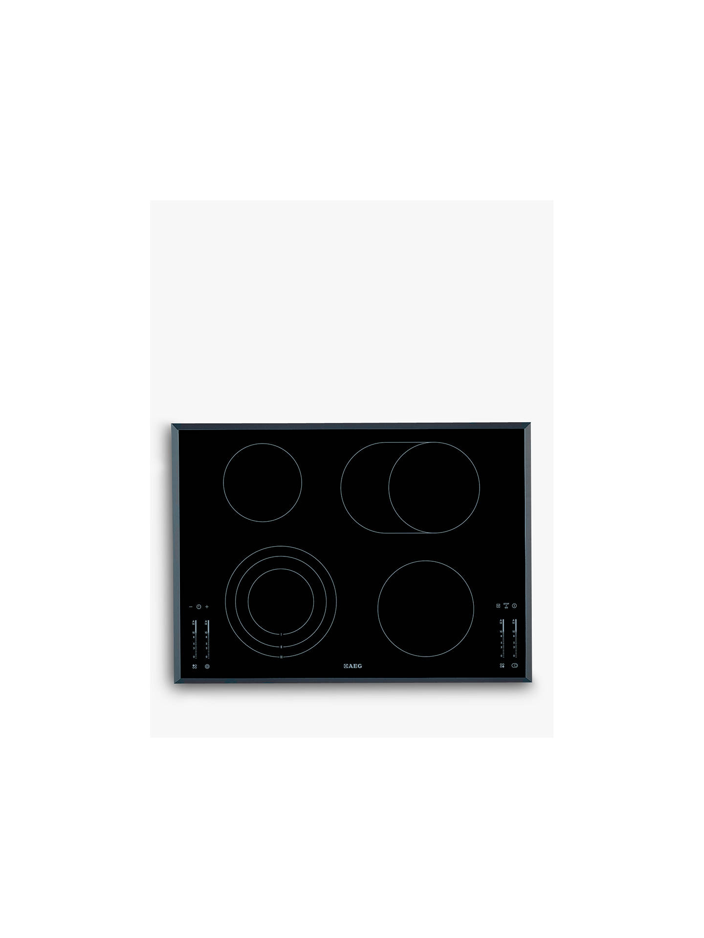 BuyAEG HK764070FB Ceramic Hob Online at johnlewis.com