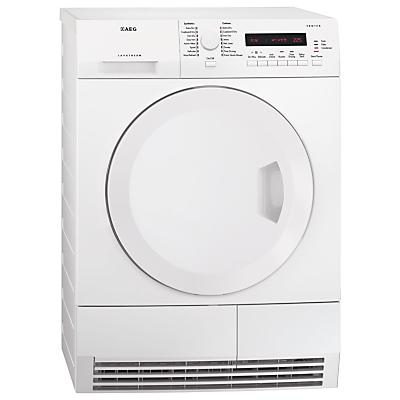 AEG T75280AC ProTex Condenser Tumble Dryer 8kg Load B Energy Rating White