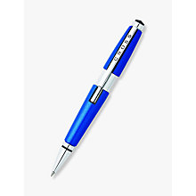 Buy Cross Edge Rollerball Pen, Nitro Blue Online at johnlewis.com