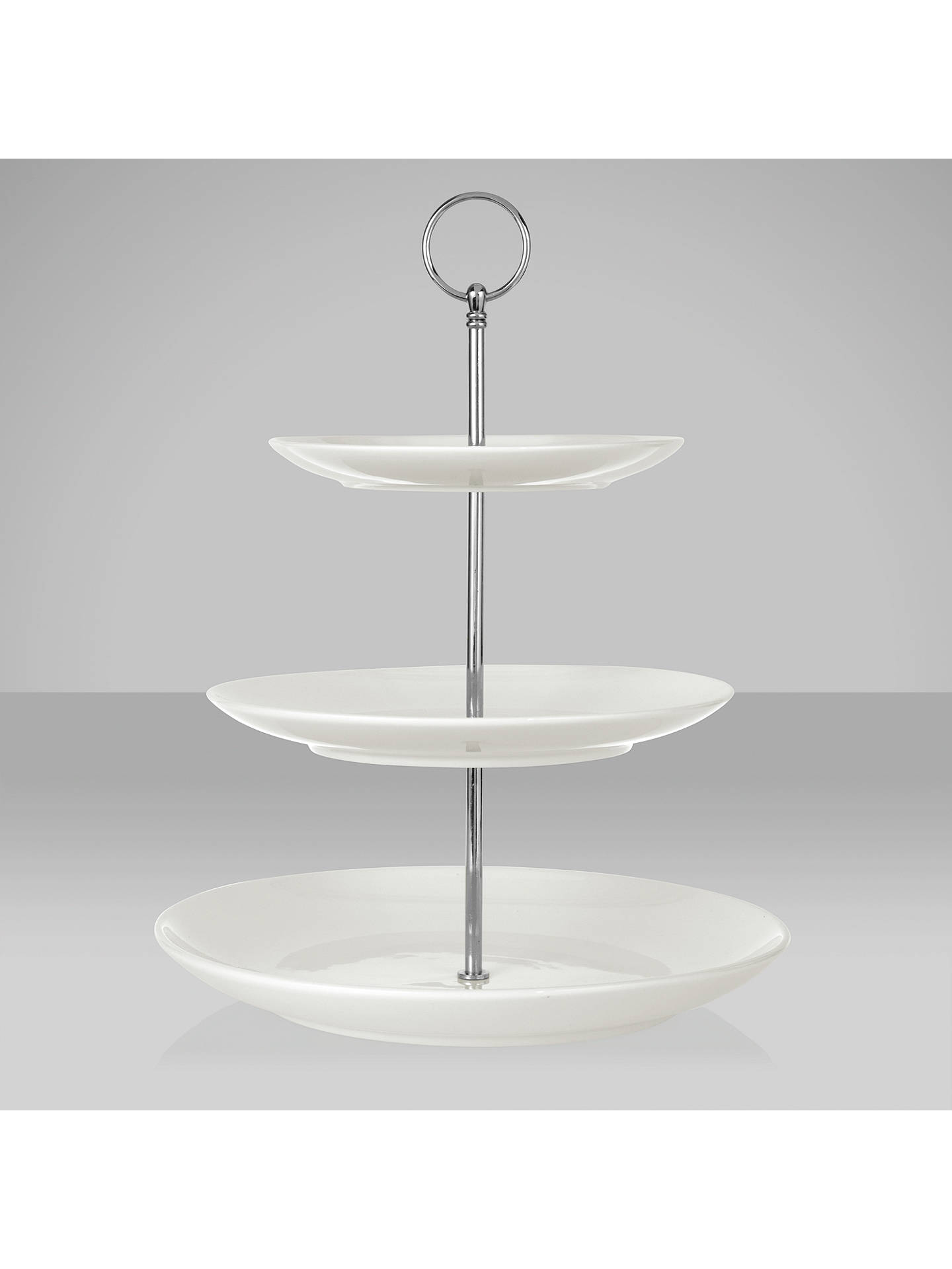 house by john lewis 3 tier cake stand at john lewis partners. Black Bedroom Furniture Sets. Home Design Ideas