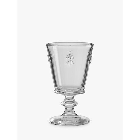 Buy La Rochère Bee Stemmed Glass, 240ml Online at johnlewis.com