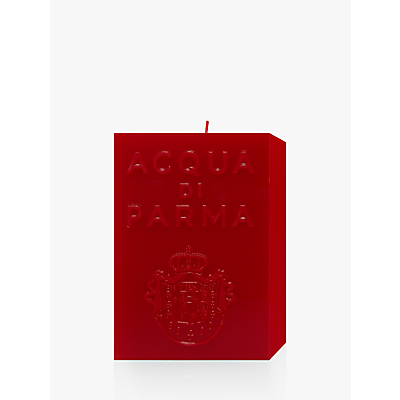 Acqua di Parma Large Red Cube Candle – Spicy, 1000g