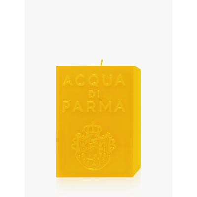 Acqua di Parma Large Yellow Cube Candle – Colonia, 1000g