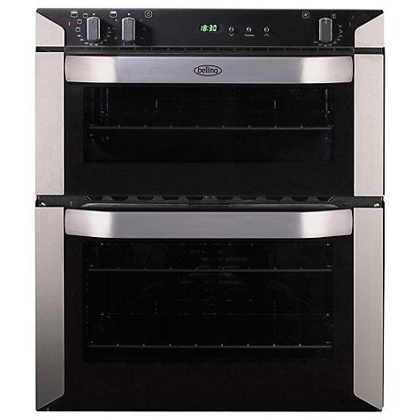 buy belling bi70fp double built under electric oven. Black Bedroom Furniture Sets. Home Design Ideas