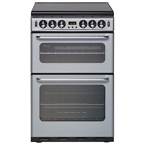 Buy New World 550TSIDOM Gas Cooker, Silver Online at johnlewis.com
