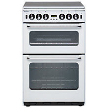 Buy New World 550TSIDOM Gas Cooker, White Online at johnlewis.com