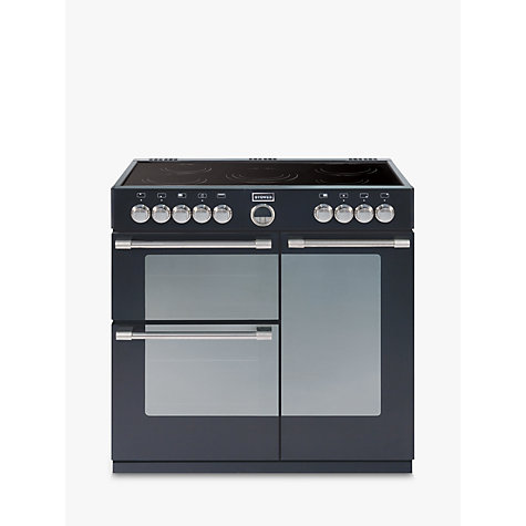 Buy Stoves Sterling 900E Electric Range Cooker, Black Online at johnlewis.com