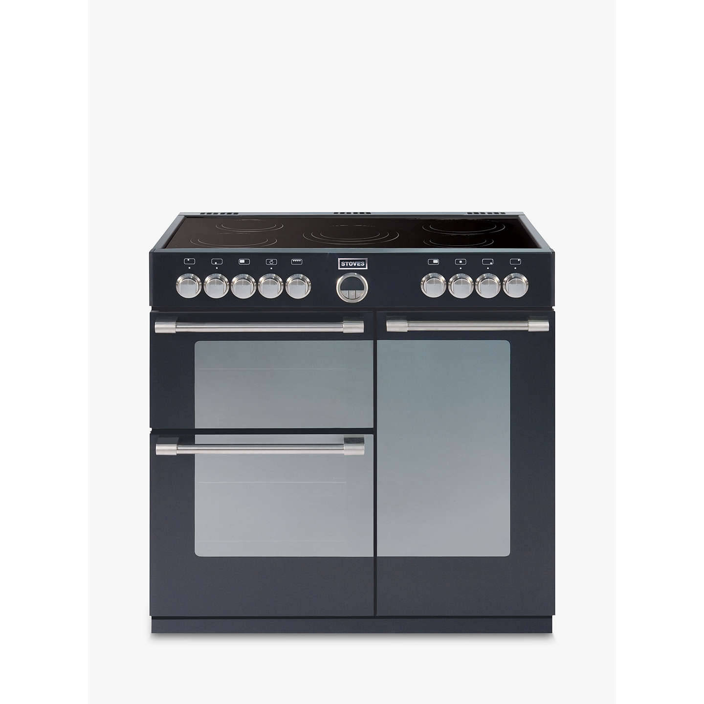 BuyStoves Sterling 900E Electric Range Cooker, Black Online at johnlewis.com