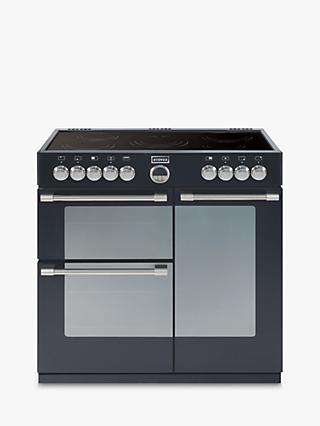 Stoves Sterling 900E Electric Range Cooker, Black