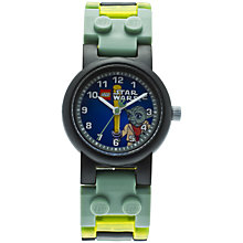 Buy LEGO Star Wars Yoda Watch, Multi Online at johnlewis.com