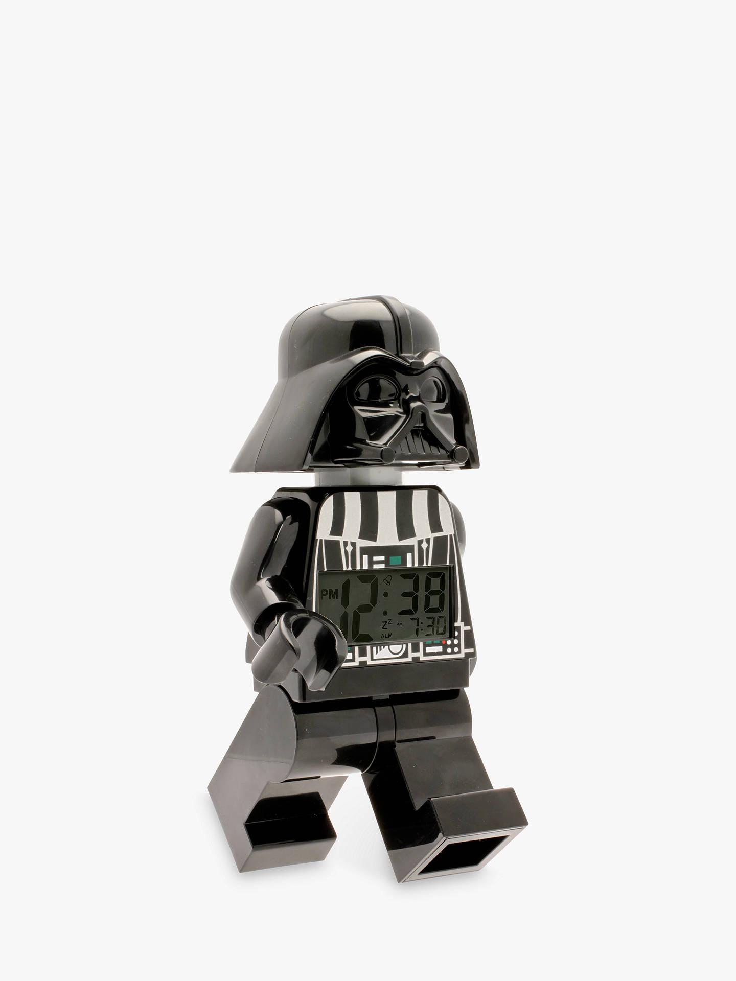 db8a3a89d Buy LEGO Star Wars Darth Vader Alarm Clock Online at johnlewis.com ...