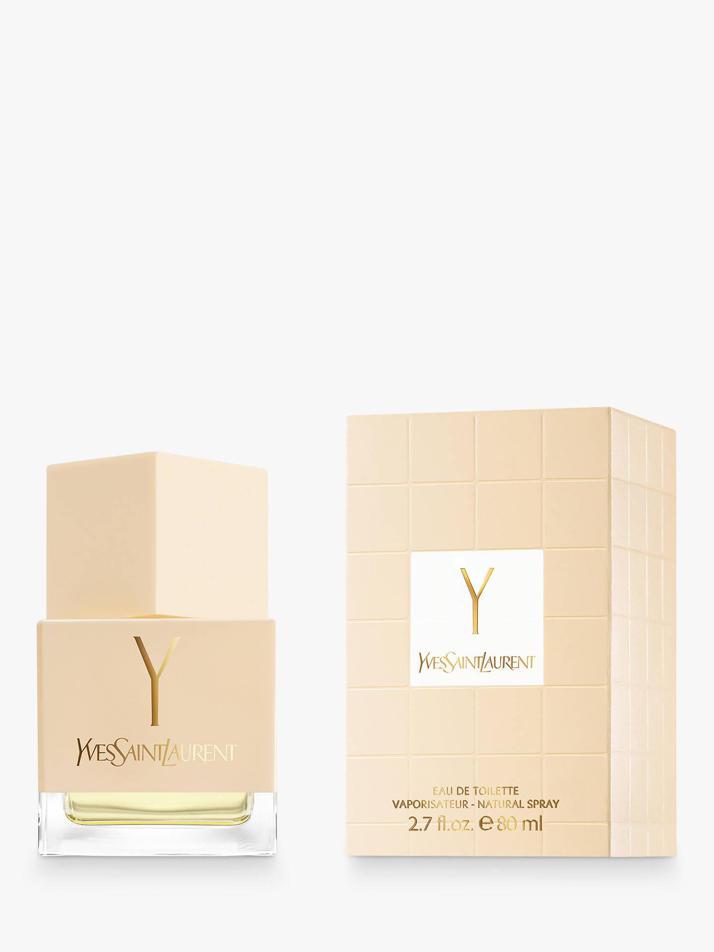 68acdecef7f Buy Yves Saint Laurent Y Eau de Toilette Natural Spray, 80ml Online at  johnlewis.