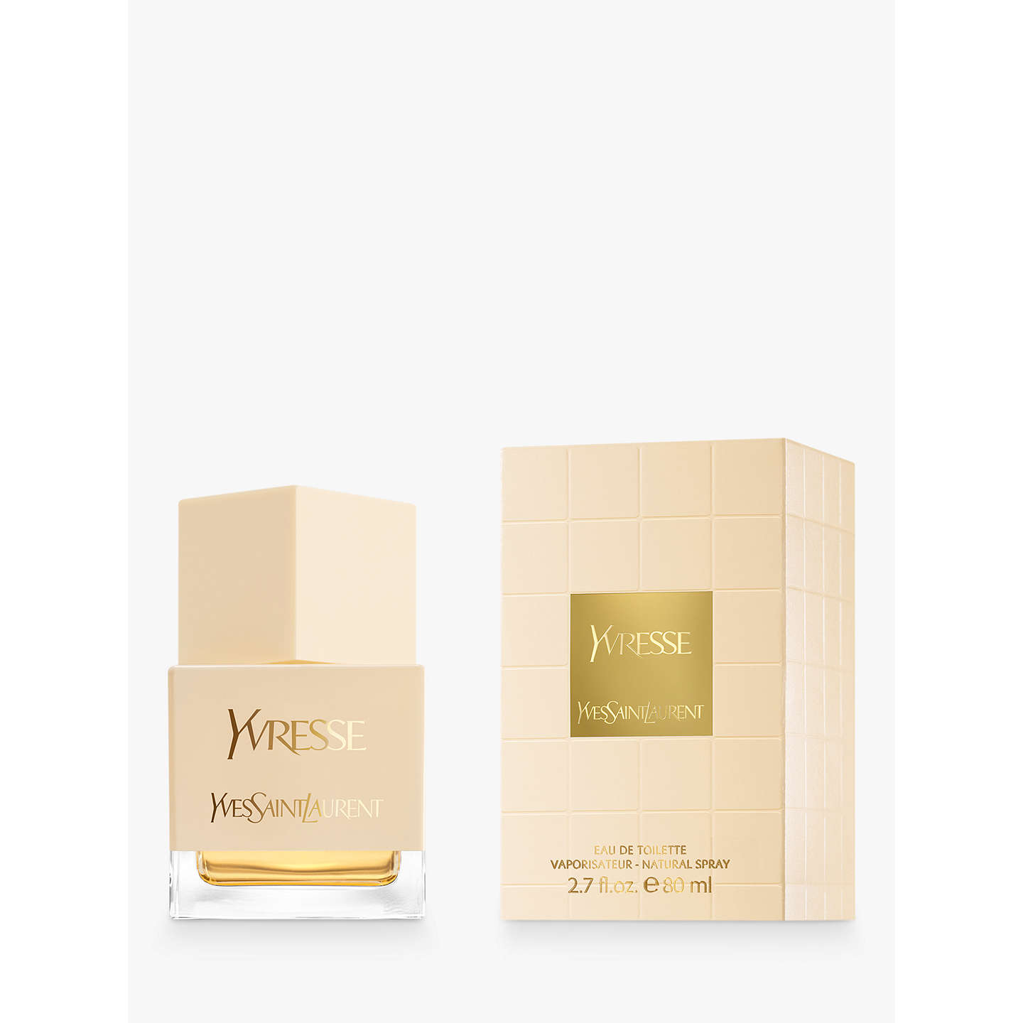 BuyYves Saint Laurent Yvresse Eau de Toilette Natural Spray, 80ml Online at johnlewis.com