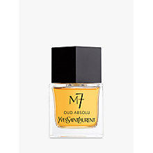 Buy Yves Saint Laurent M7 Eau de Toilette Natural Spray, 80ml Online at johnlewis.com