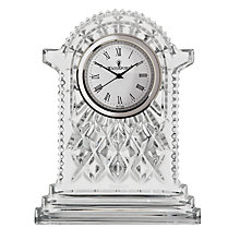 Buy Waterford Crystal Lismore Carriage Clock, Large Online at johnlewis.com