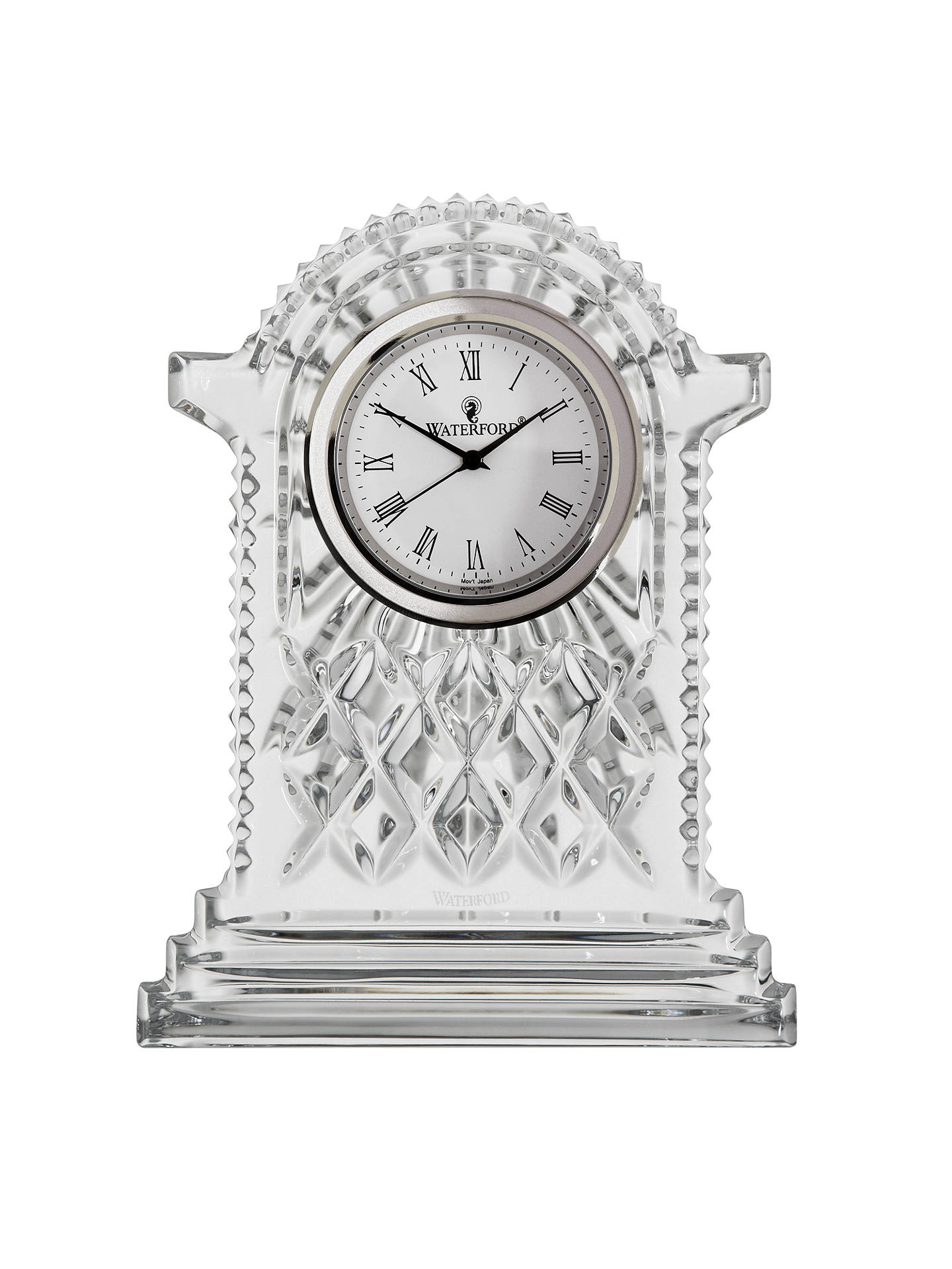 Waterford Crystal Lismore Carriage Clock Large