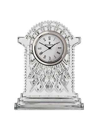 Waterford Crystal Lismore Carriage Clock, Large