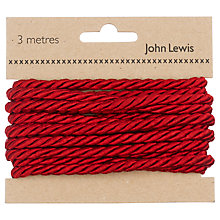 Buy John Lewis Twisted Cord, 3m Online at johnlewis.com
