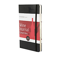 Buy Moleskine Wine Journal Online at johnlewis.com