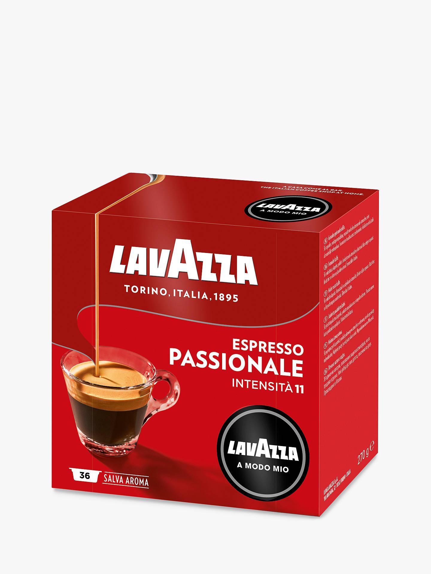Lavazza Passionale A Modo Mio Espresso Capsules Pack Of 16