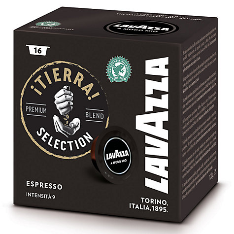 Buy Lavazza Tierra A Modo Mio Espresso Capsules, Pack of 16 Online at johnlewis.com