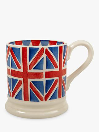 Emma Bridgewater Union Jack Mug, Multi, 280ml