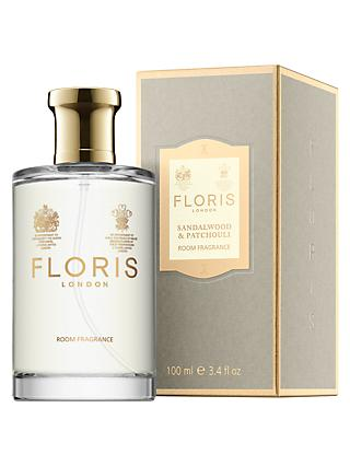Floris Sandalwood & Patchouli Room Fragrance, 100ml