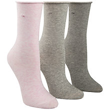 Buy Calvin Klein Roll Top Crew Socks Online at johnlewis.com