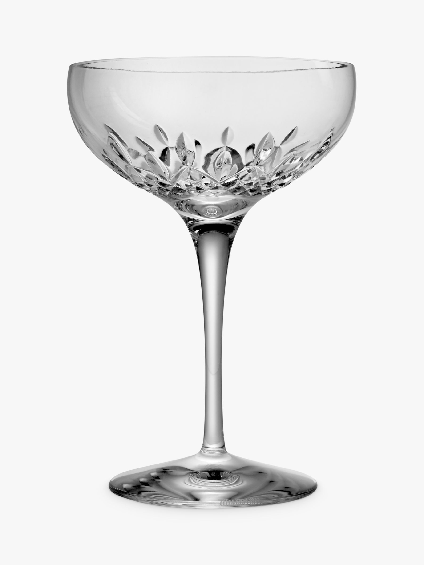 Waterford Crystal Lismore Essence Cut Lead Crystal Champagne Saucers Set Of 2 350ml At John Lewis Partners
