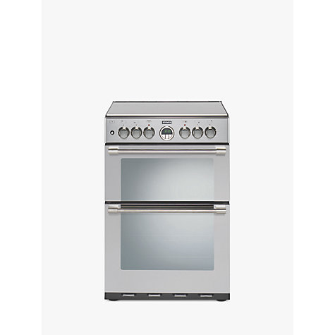 Buy Stoves Sterling 600DF Dual Fuel Cooker, Stainless Steel Online at johnlewis.com