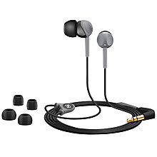 Buy Sennheiser CX160 In-Ear Headphones, Black Online at johnlewis.com