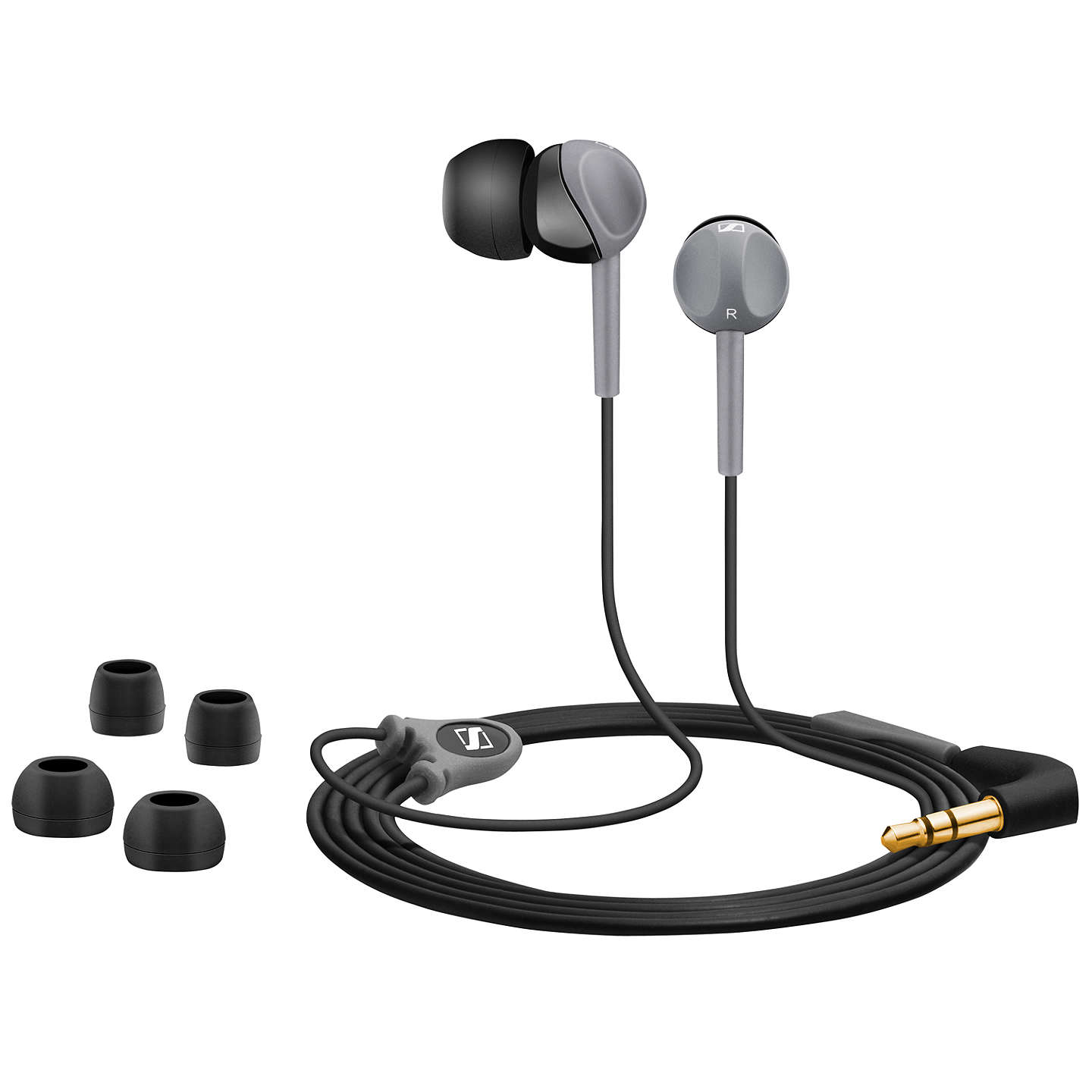 BuySennheiser CX160 In-Ear Headphones, Black Online at johnlewis.com