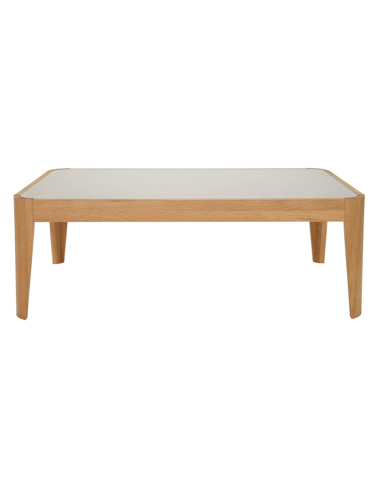 Buy John Lewis Domino Glass Top Coffee Table Online at johnlewis.com
