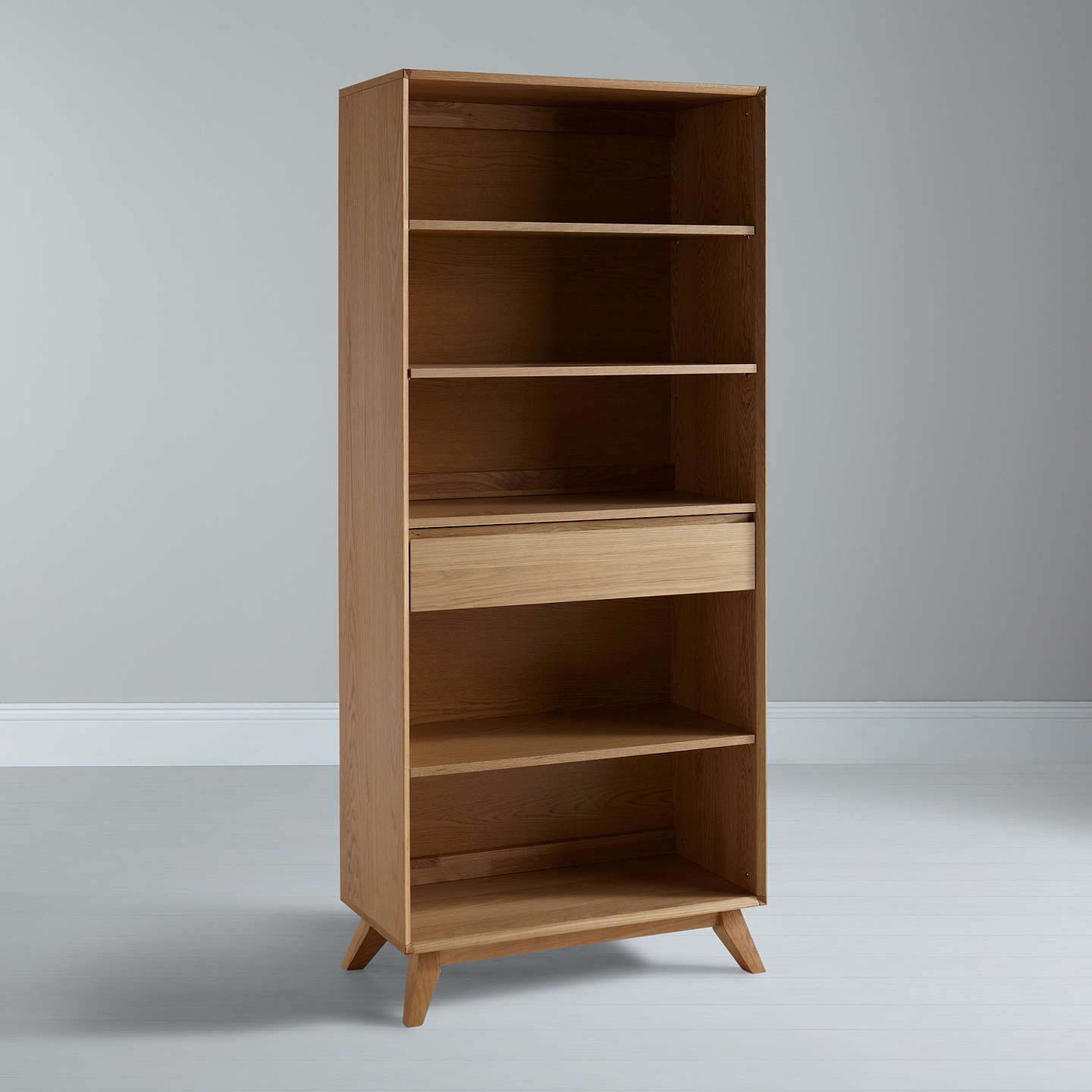 Buyhouse By John Lewis Stride Wide Bookcase Online At Johnlewiscom