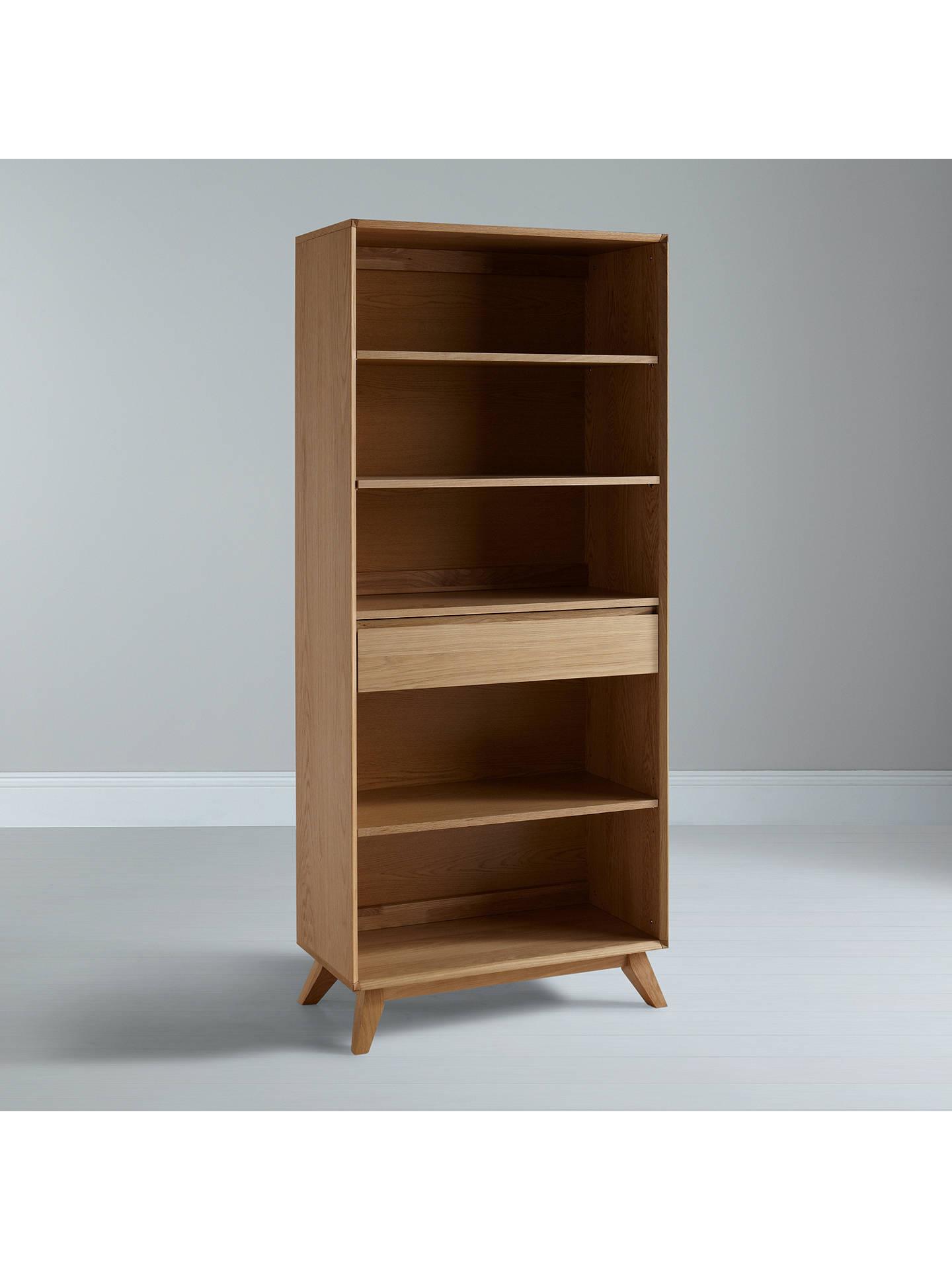 house by john lewis stride wide bookcase at john lewis. Black Bedroom Furniture Sets. Home Design Ideas