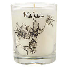 Buy Stoneglow White Orchid Jasmine Scented Candle Online at johnlewis.com