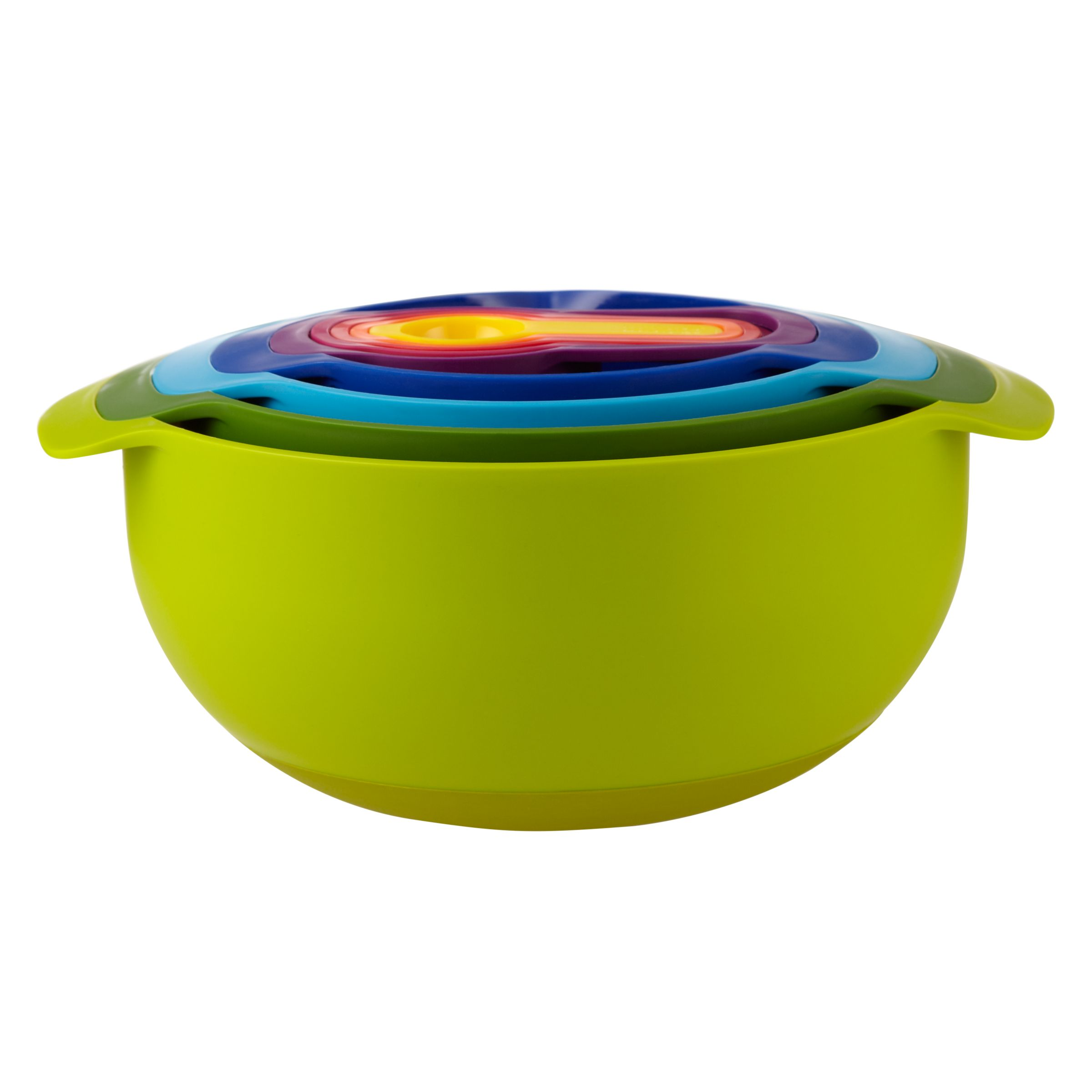 Joseph Joseph Nest Plus 9 Mixing Bowls and Measuring Cups Set, Multi