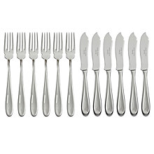 Buy Sophie Conran for Arthur Price Rivelin Fish Knife & Fork Set, 12 Piece Online at johnlewis.com