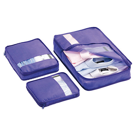 Buy Go Travel Packing Bags, Pack of 3 Online at johnlewis.com