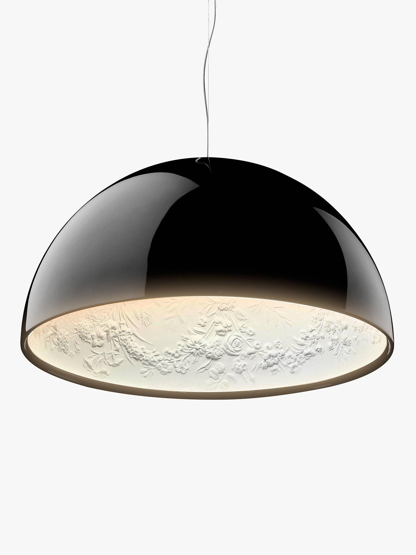BuyFlos Sky Garden S2 Ceiling Light, Black Online At Johnlewis.com ...
