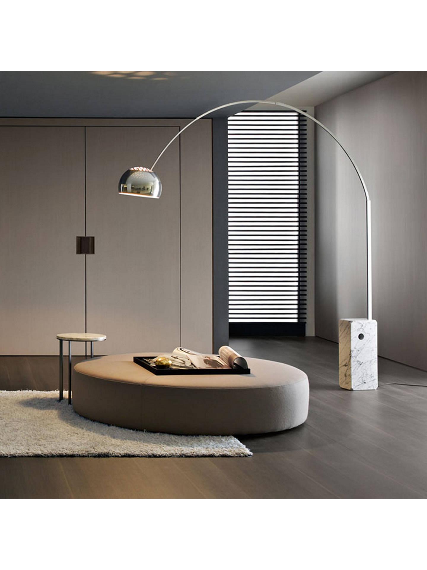 promo code 49e3c d36a1 Flos Arco Floor Lamp, Silver