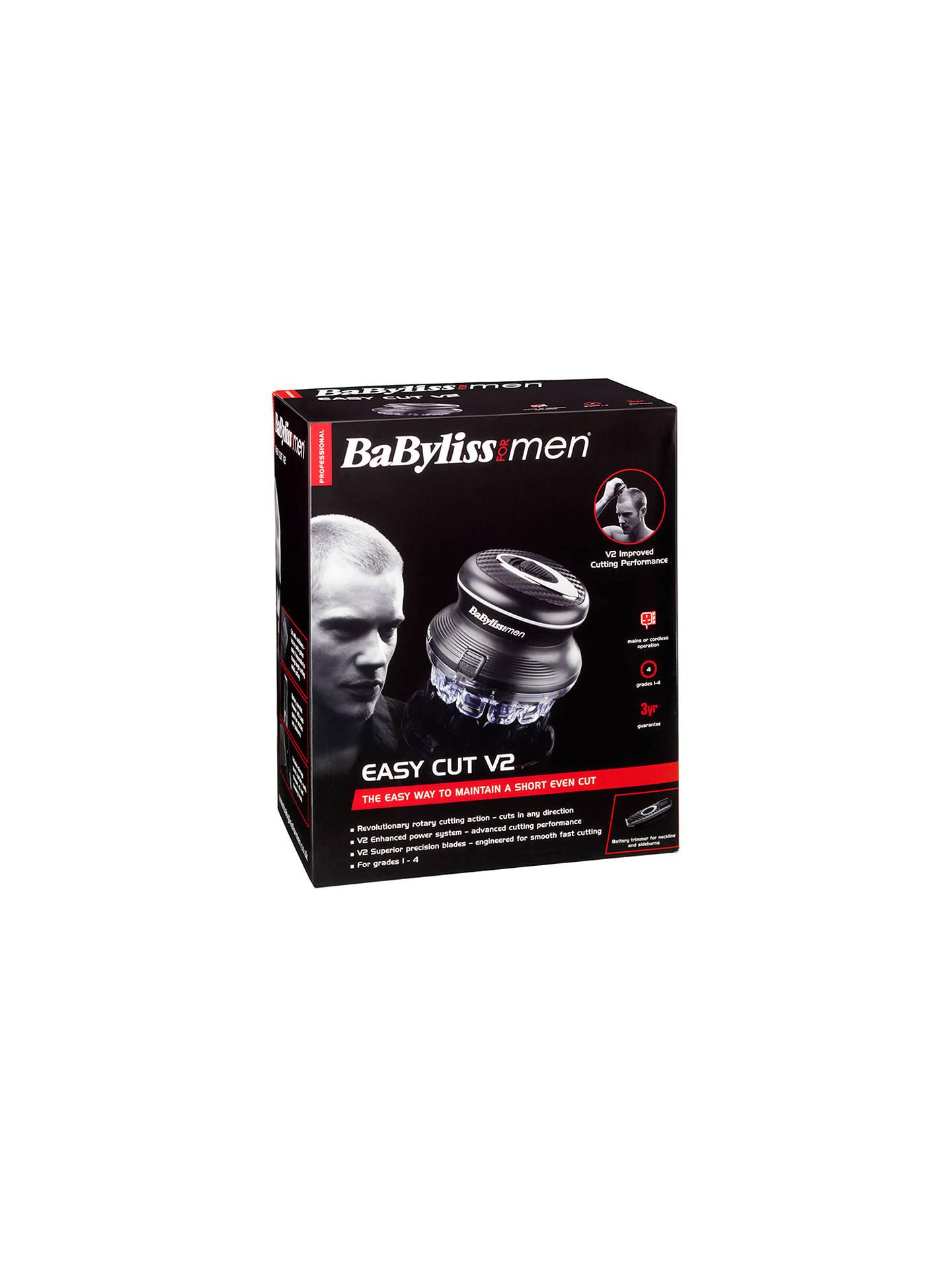 BaByliss For Men 10U Easy Cut Clipper Set at John Lewis & Partners