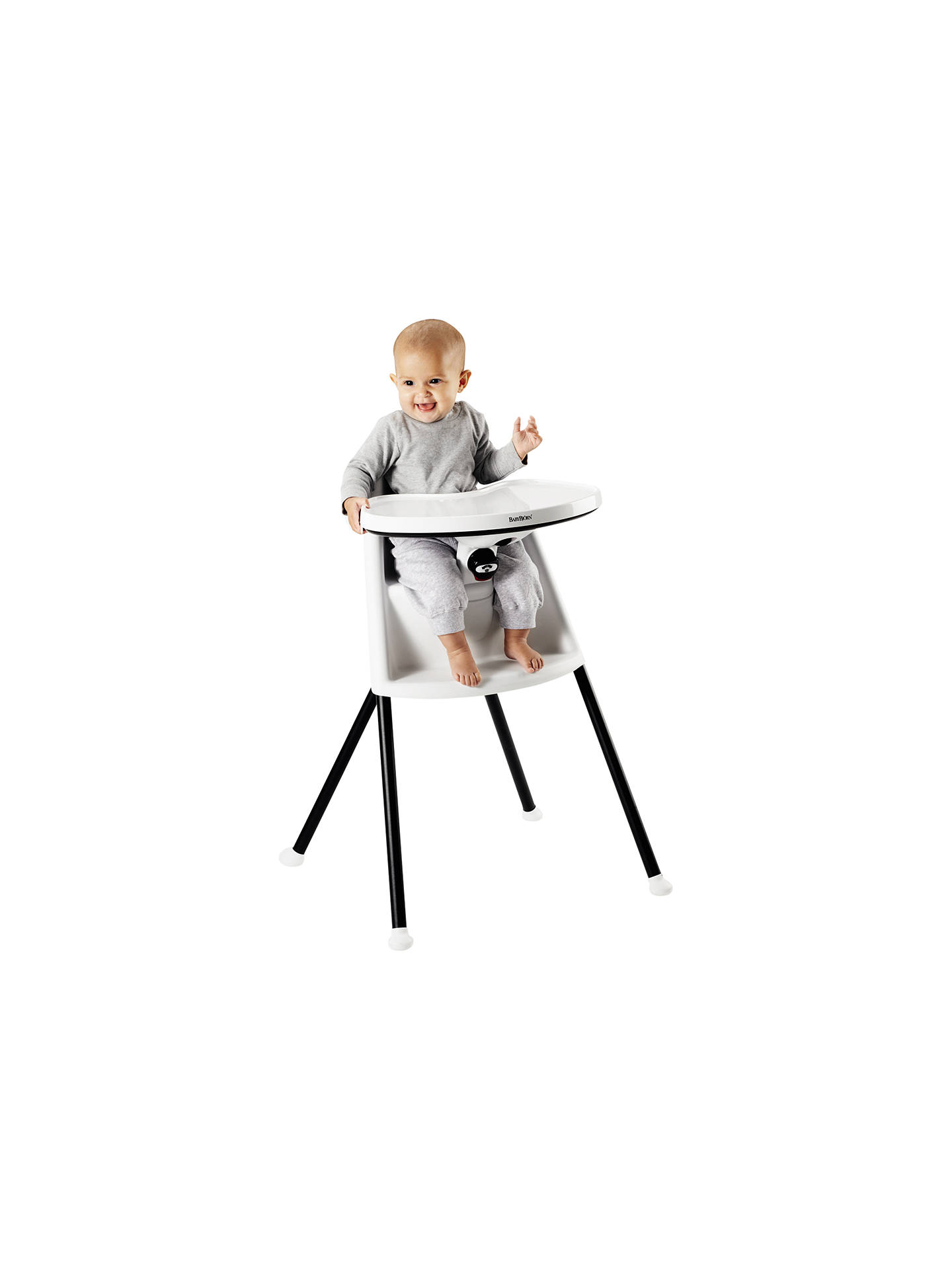 Buy BabyBjorn Highchair, White Online at johnlewis.com