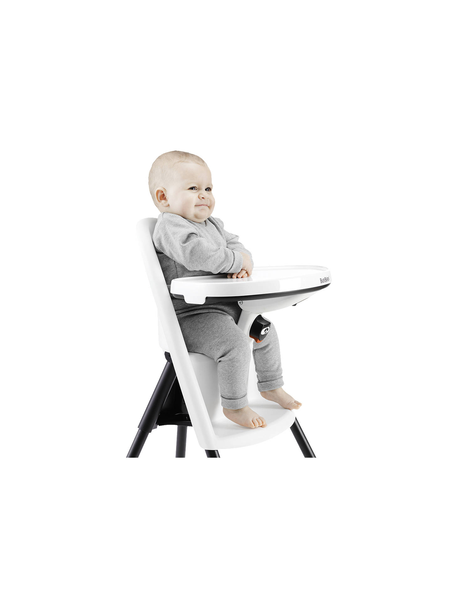 Babybjorn Highchair White At John Lewis Partners