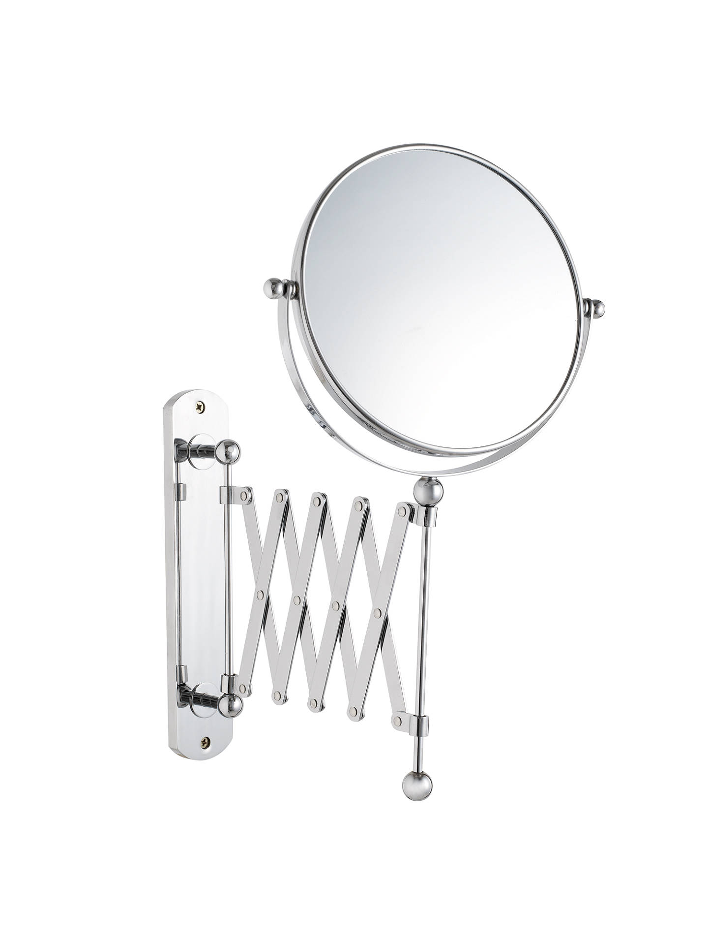 john lewis bathroom extendable magnifying wall mirror at. Black Bedroom Furniture Sets. Home Design Ideas